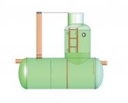 Жироотделители (жироловки) мощностью от 1 до 20 л/сек