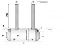 Резервуары-септики  (объем от 2 до 60 кубм)